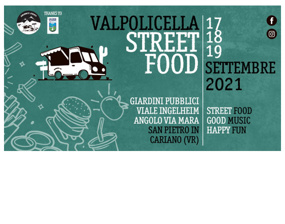 VALPOLICELLA STREET FOOD 2021