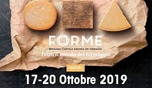 Forme 2019, Bergamo capitale mondiale dei formaggi
