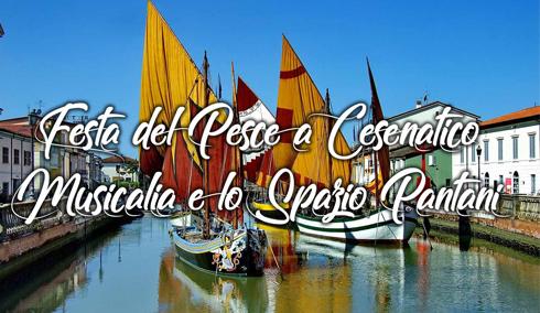 Festa del Pesce di Cesenatico, Musicalia e lo Spazio Pantani