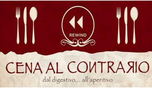 Cena al Contrario - ospiti del Conte Rario