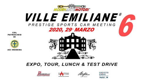 Ville Emiliane 2020 - 6th ed.