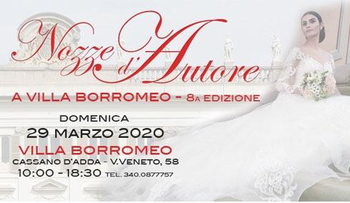 8^ Fiera Sposi A Villa Borromeo A Cassano D'adda