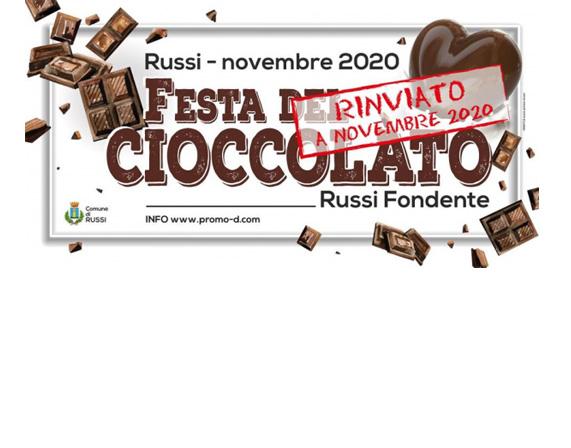 1° FESTA DEL CIOCCOLATO RUSSI FONDENTE