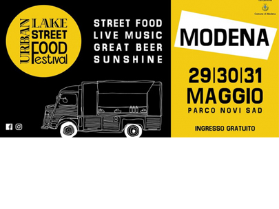 MODENA URBAN LAKE STREET FOOD FESTIVAL - LATIN EDITION 2020